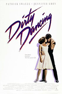 <i>Dirty Dancing</i> 1987 American romantic drama film directed by Emile Ardolino