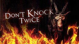 Don't Knock Twice (video game) - Image: Dont Knock Twice Cover Art