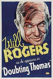 <i>Doubting Thomas</i> (1935 film) 1935 film by David Butler