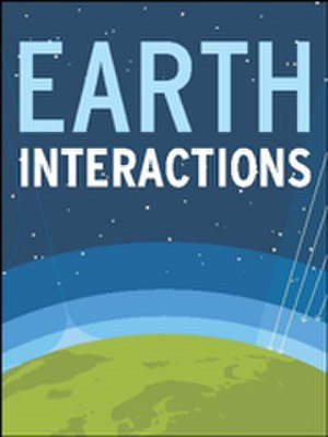 Earth Interactions - Image: Earth Interactions cover