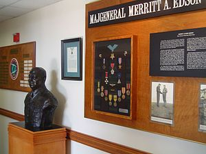 Communications School (United States Marine Corps) - MajGen Merritt A. Edson display