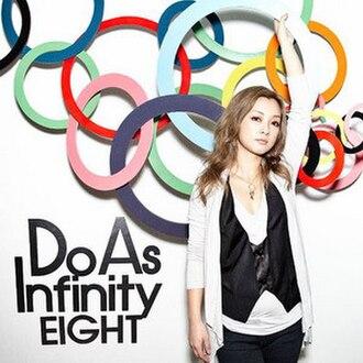 Eight (Do As Infinity album) - Image: Eight CD+DVD Do As Infinity album cover