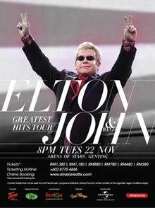 Greatest Hits Tour Elton John Wikipedia