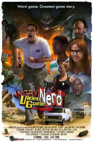 Angry Video Game Nerd: The Movie - Theatrical release poster