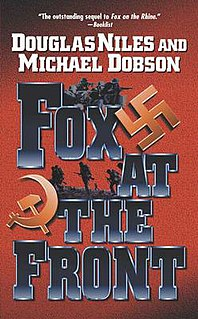 <i>Fox at the Front</i> book by Michael Dobson