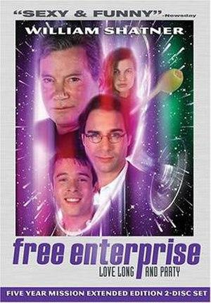Free Enterprise (film) - DVD cover