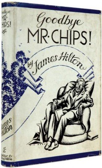 Goodbye, Mr. Chips - Cover of the UK first edition