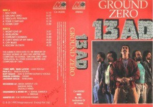 Ground Zero (13AD album) - Image: Ground Zero (13AD album)