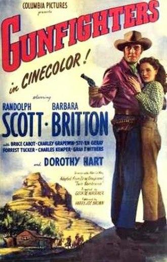 Gunfighters (film) - Image: Gunfighters Film Poster