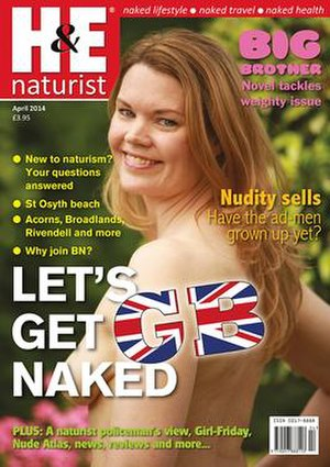 H&E naturist - April 2014 Cover
