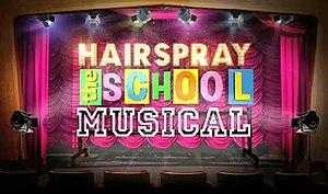 Hairspray: The School Musical - Image: Hairspray School logo
