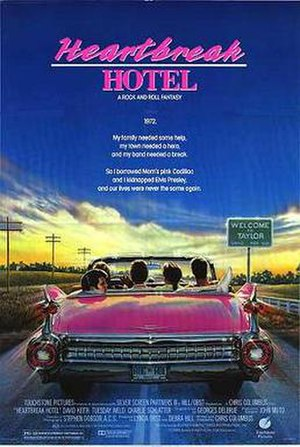 Heartbreak Hotel (film) - Theatrical release poster