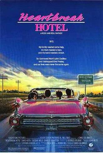 Heartbreak Hotel (film) - Theatrical release poster