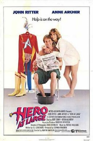 Hero at Large - Theatrical release poster