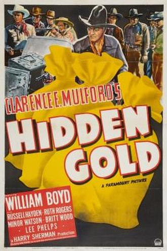 Hidden Gold - Theatrical release poster