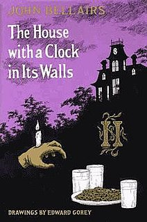 <i>The House with a Clock in Its Walls</i> book by John Bellairs