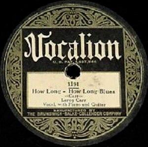How Long, How Long Blues - Image: How Long, How Long Blues single cover