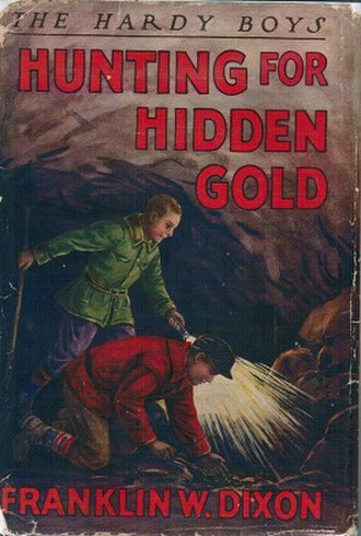 Franklin W. Dixon - Image: Huntingfor Hidden Gold Book Cover