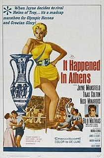 <i>It Happened in Athens</i> 1962 film by Andrew Marton
