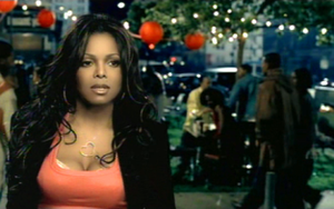 "I Want You (Janet Jackson song) - Jackson in the music video for ""I Want You"""