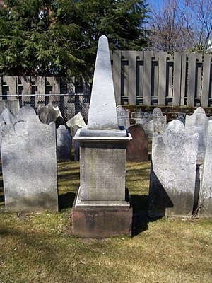 Jonathan Edwards (the younger) - Grave of Jonathan Edwards Jr. at Schenectady, New York