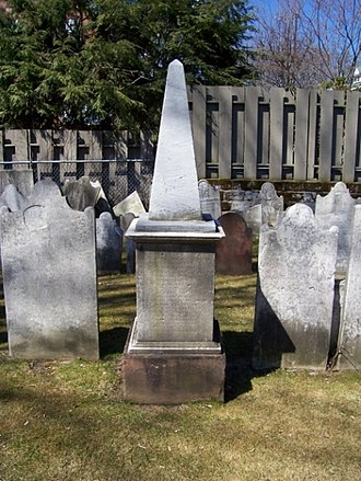 Jonathan Edwards (the younger) - Grave of Jonathan Edwards at Schenectady, New York