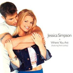 Where You Are (Jessica Simpson song) - Image: Jessicasimpson single whereyouare