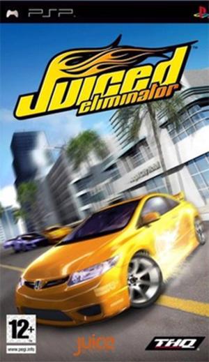 Juiced: Eliminator - Image: Juiced Eliminator Coverart