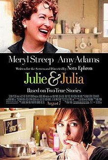 A woman laughing. Below a woman with a finger in her mouth. The middle horizontal section contains the film title.
