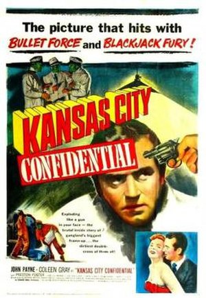Kansas City Confidential - Theatrical release poster