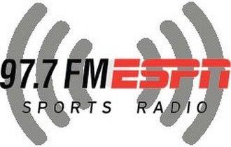 KHKR - Image: KHKR 97.7FMESPN logo