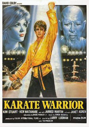 Karate Warrior - Theatrical release poster