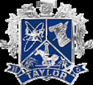 James E. Taylor High School - Image: Katy Taylor HS Crest