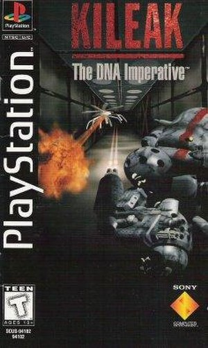 Kileak: The DNA Imperative - North American box art