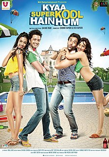 <i>Kyaa Super Kool Hain Hum</i> 2012 film by Sachin Yardi