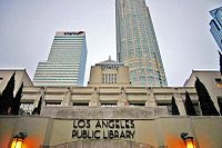 The Los Angeles Central Library in Downtown Los Angeles