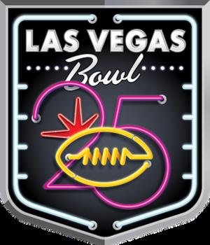 Las Vegas Bowl - 25th Anniversary logo