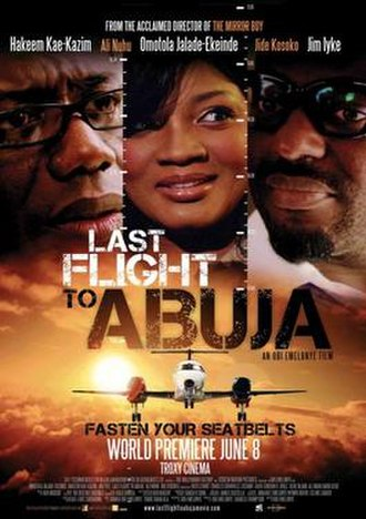 Last Flight to Abuja - Theatrical poster