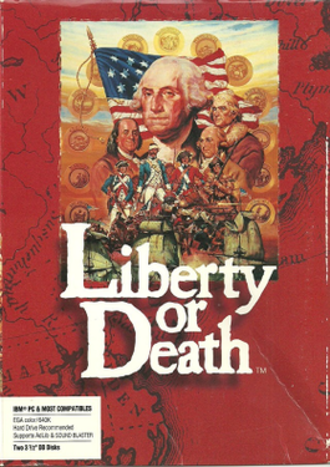 Liberty or Death (video game) - North American cover art