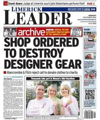 Limerick Leader - Image: Limerick Leader