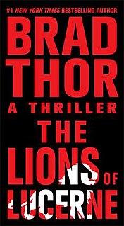 <i>The Lions of Lucerne</i> book by Brad Thor