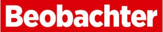 Beobachter (magazine) - Image: Logo beobachter