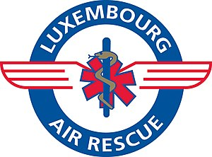Luxembourg Air Rescue - Image: Logo Luxembourg Air Rescue