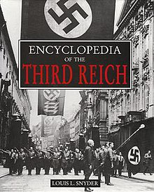 Cover of Encyclopedia of the Third Reich by Louis Leo Snyder