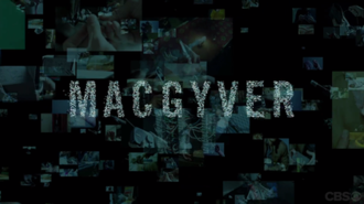 MacGyver (2016 TV series) - Title card starting with the second season