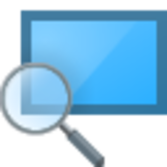 Magnifier (Windows) - Image: Magnifier Windows 10 Icon