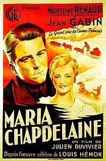 <i>Maria Chapdelaine</i> (1934 film) 1934 French film
