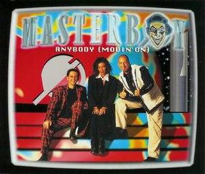 Anybody (Movin' On) - Image: Masterboy Anybody single cover