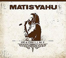 Matisyahu Live At Stubbs Vol2 album cover.jpg
