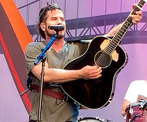 Matt Nathanson - Nathanson on May 21, 2015 at Sleep Train Amphitheatre at Sacramento in Marysville, CA